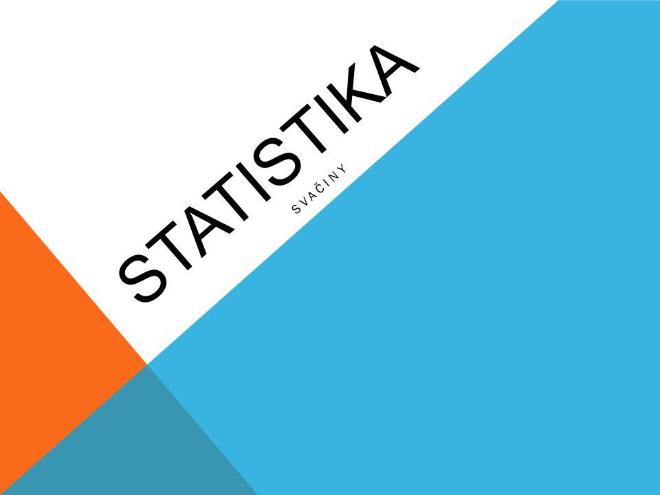 statistika SVAČINY