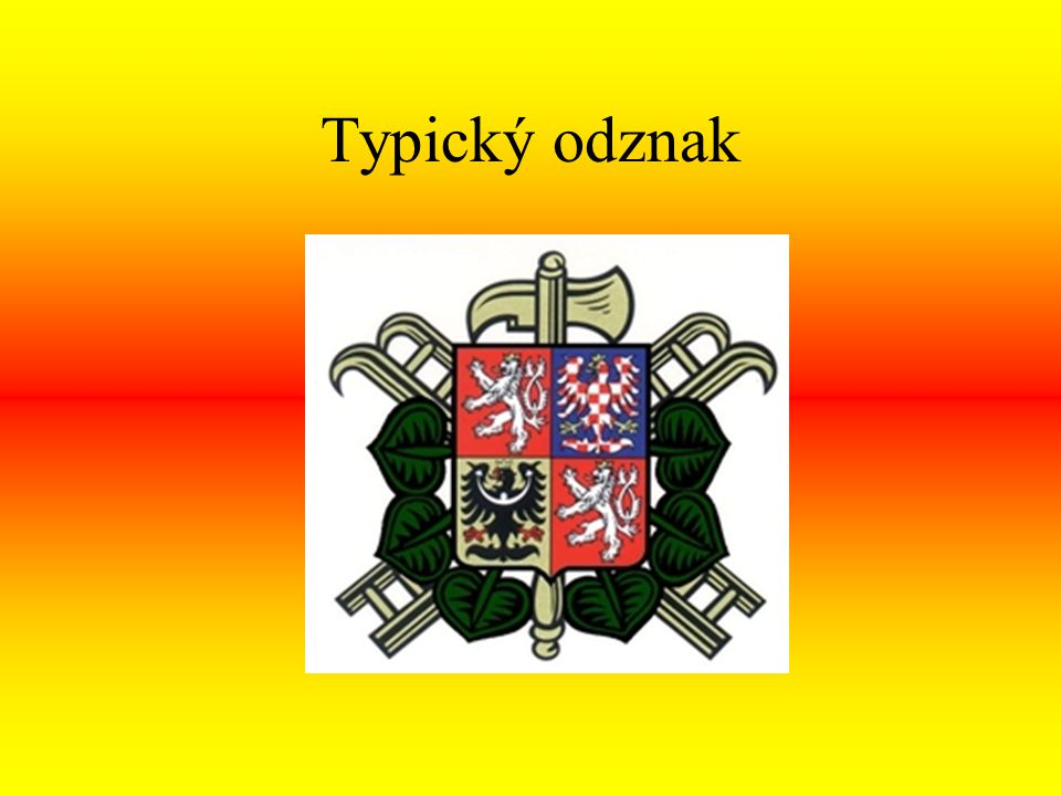 Typický odznak