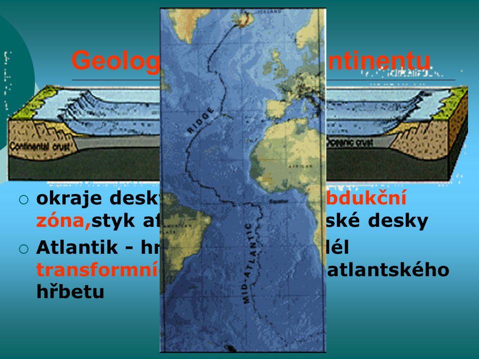 Geologický vývoj kontinentu