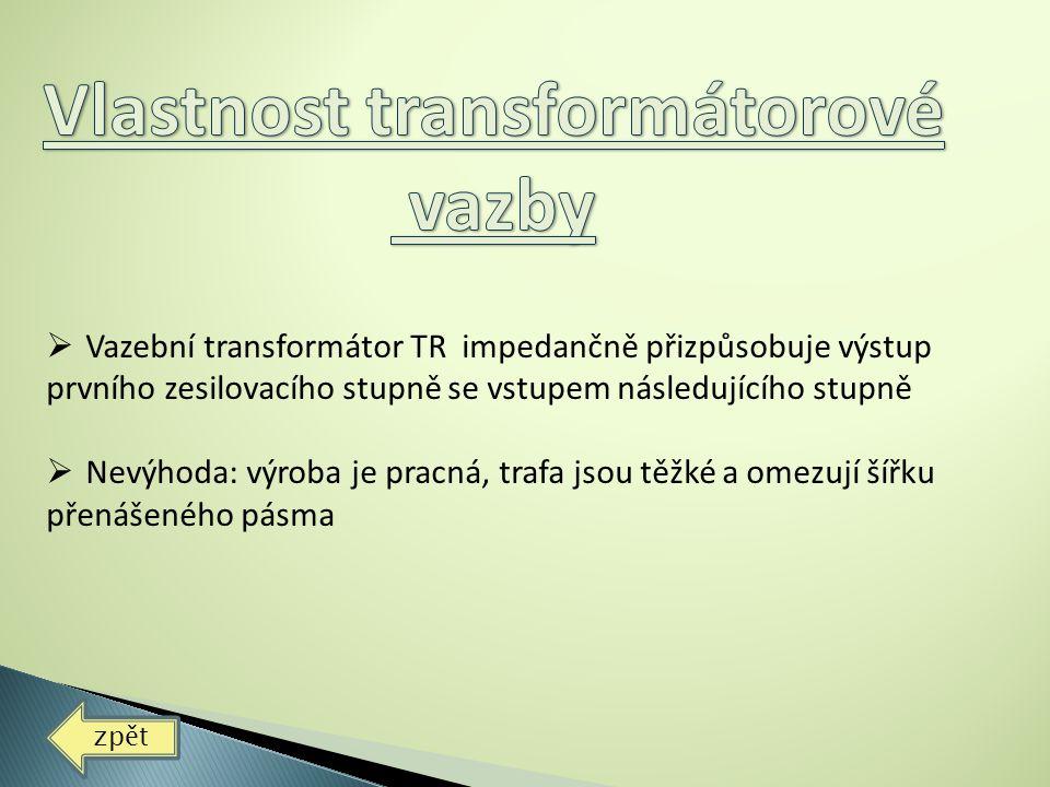 Vlastnost transformátorové