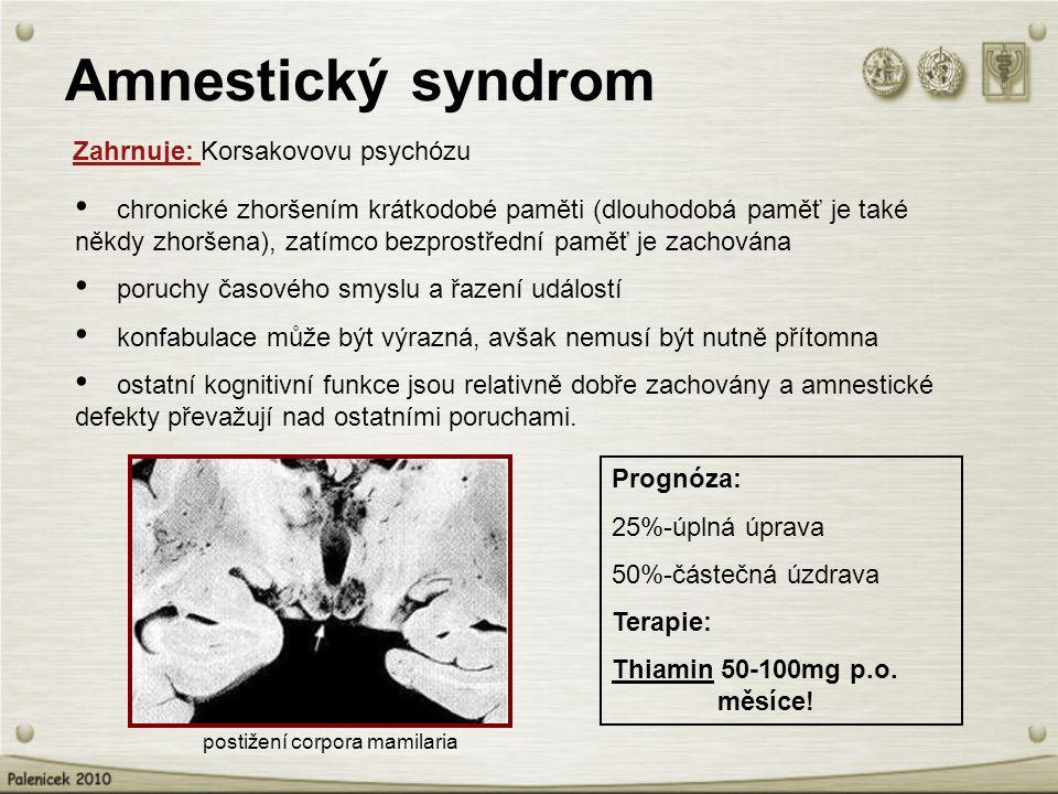 postižení corpora mamilaria