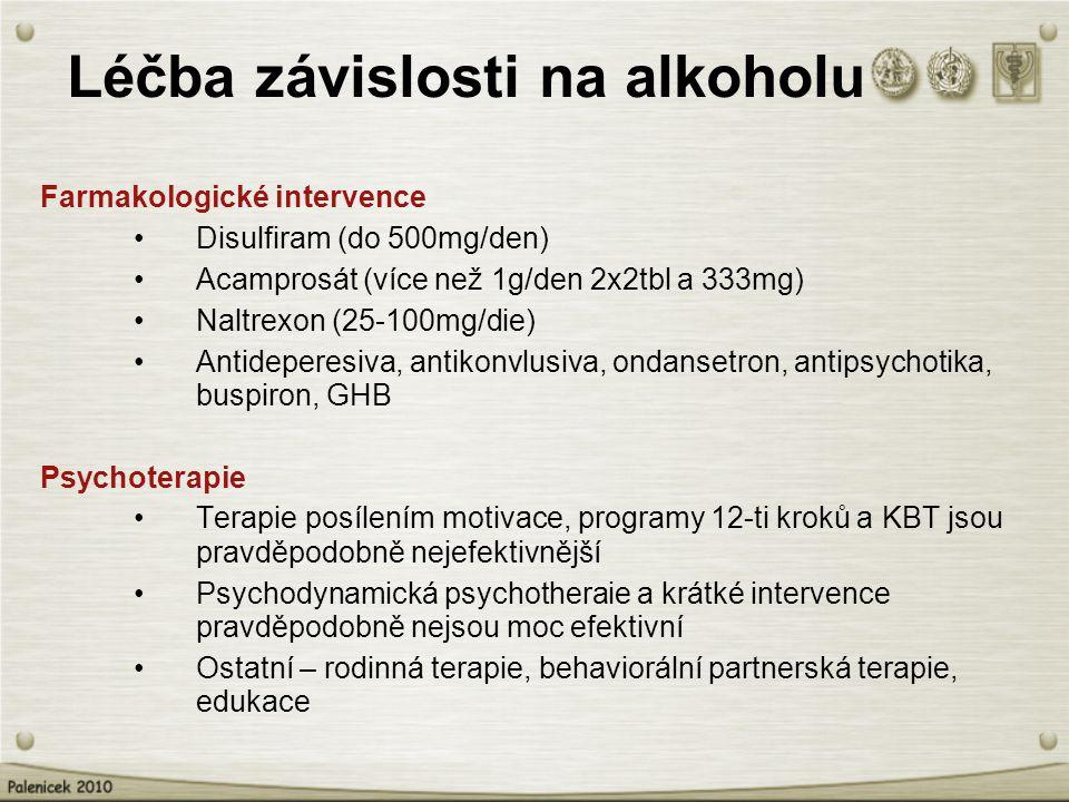 Léčba závislosti na alkoholu