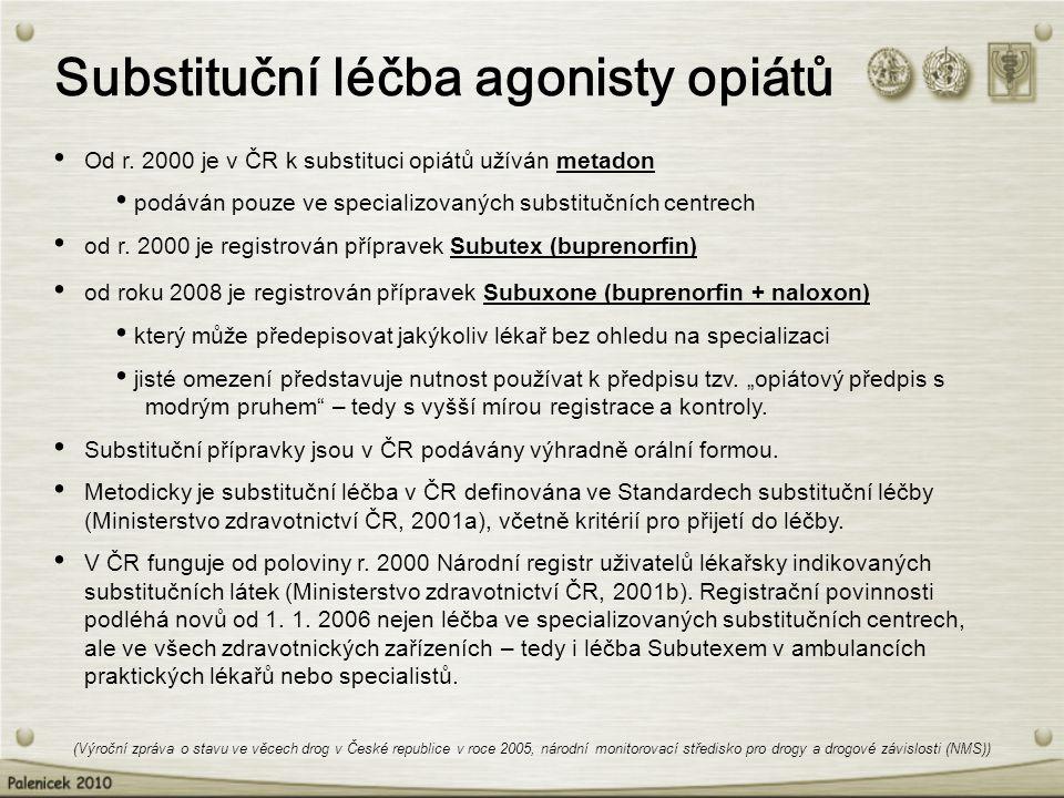 Substituční léčba agonisty opiátů
