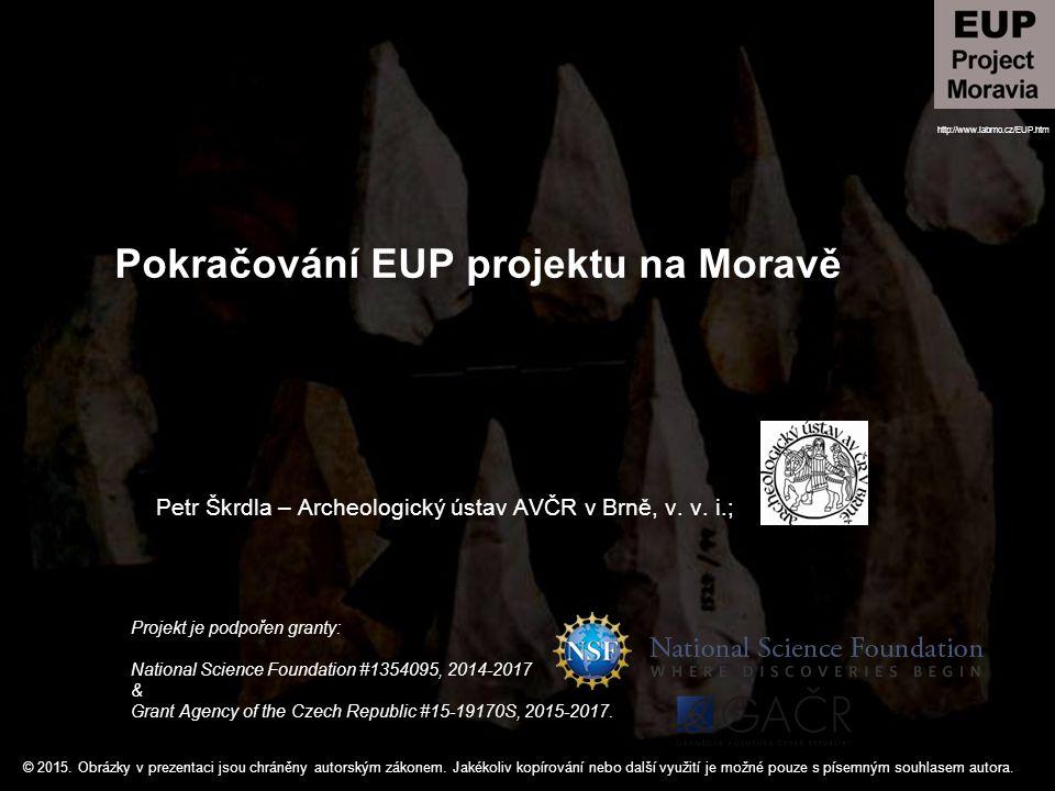 Pokračování EUP projektu na Moravě
