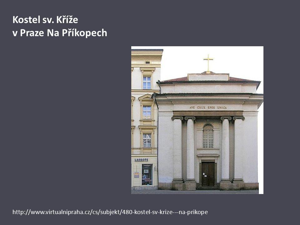 Kostel sv. Kříže v Praze Na Příkopech