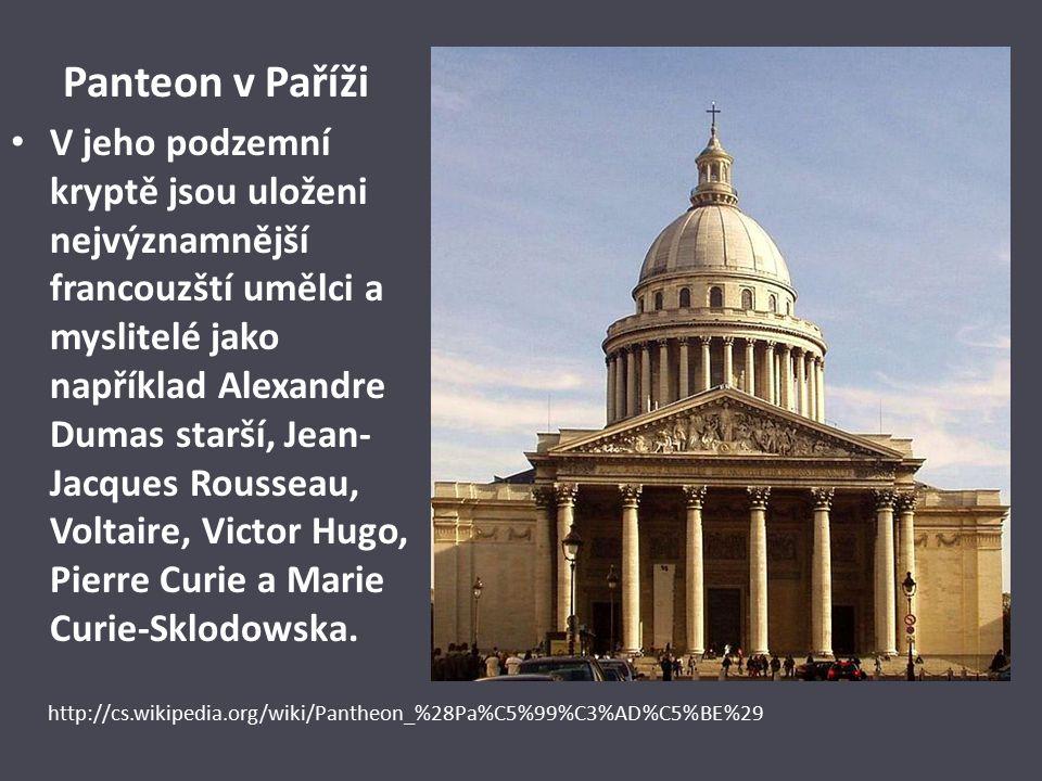 Panteon v Paříži