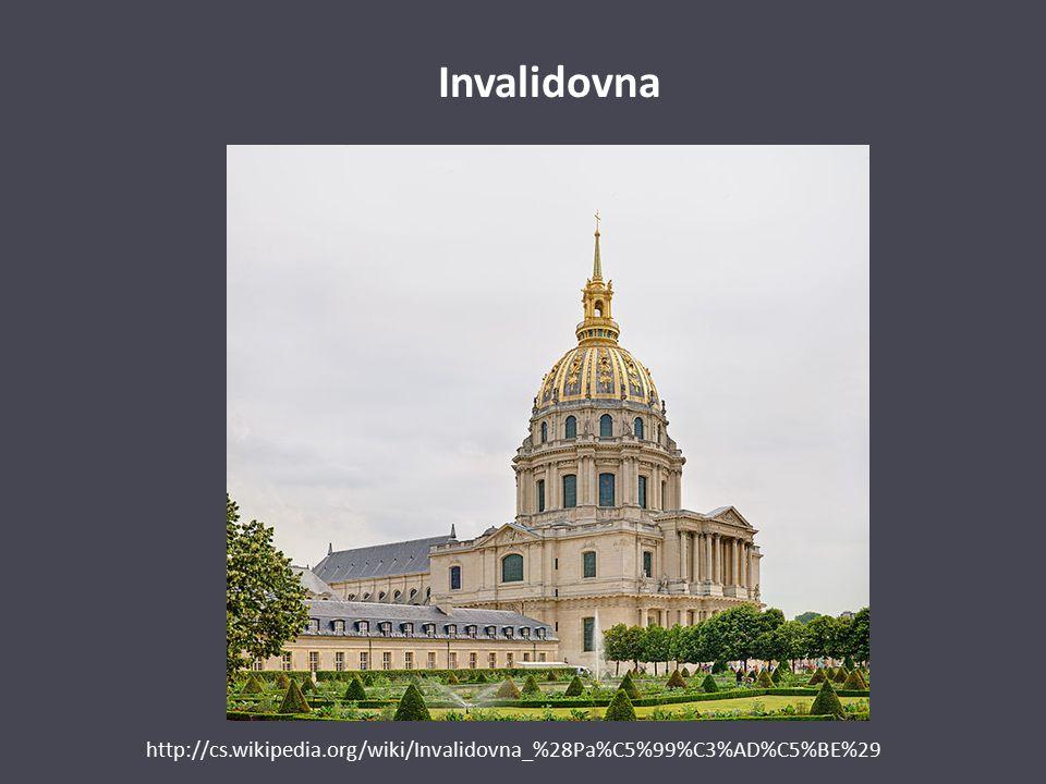 Invalidovna http://cs.wikipedia.org/wiki/Invalidovna_%28Pa%C5%99%C3%AD%C5%BE%29