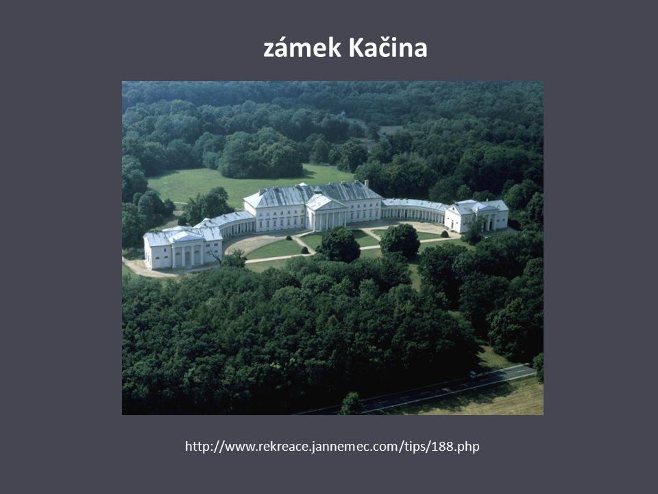 zámek Kačina http://www.rekreace.jannemec.com/tips/188.php
