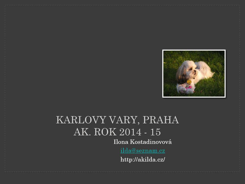Karlovy Vary, Praha Ak. Rok 2014 - 15