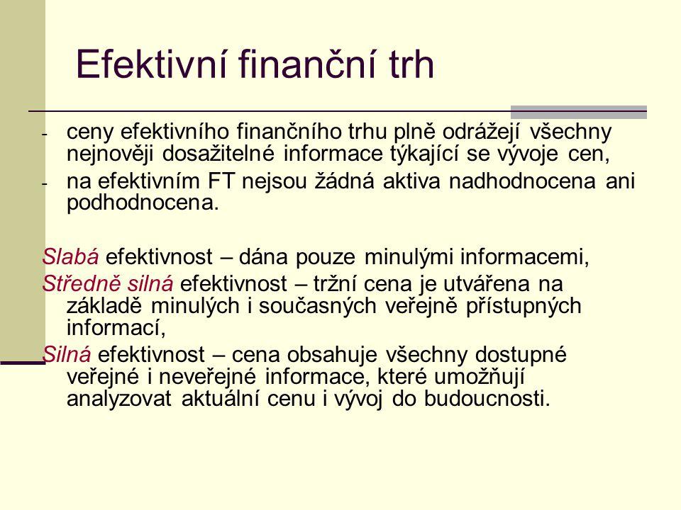 Efektivní finanční trh