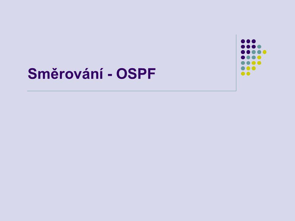 Směrování - OSPF