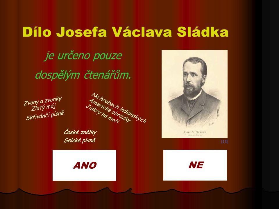 Dílo Josefa Václava Sládka