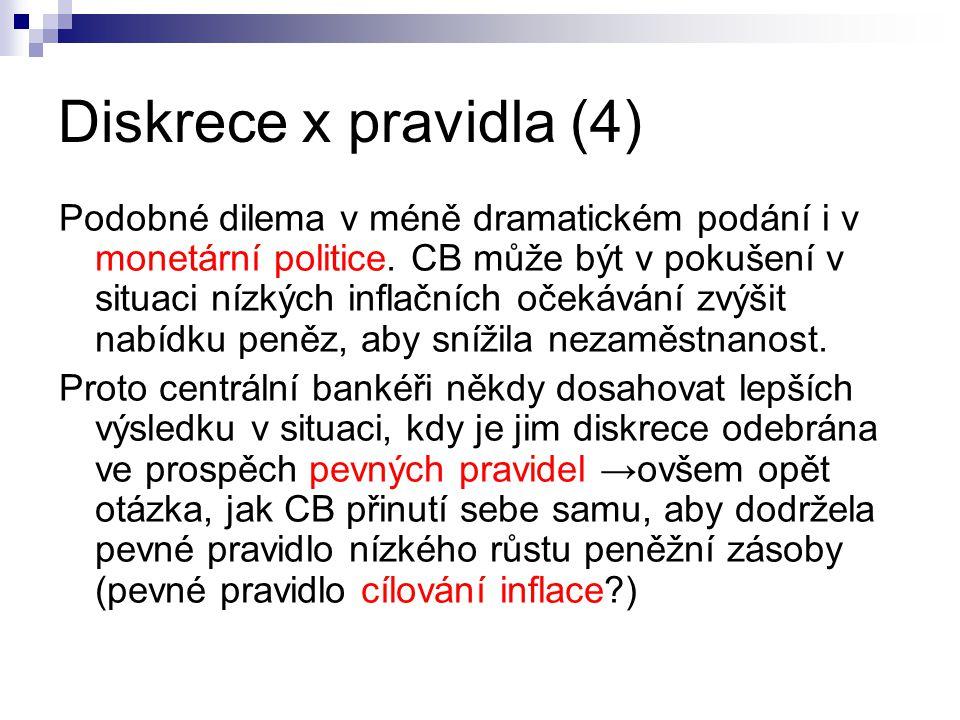 Diskrece x pravidla (4)