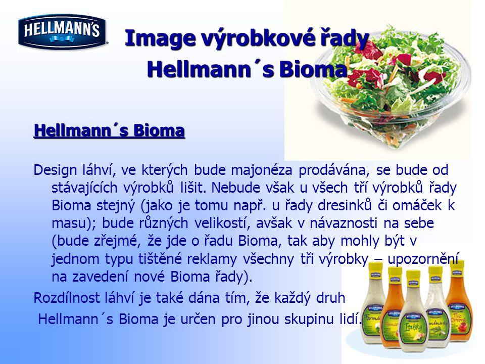 Image výrobkové řady Hellmann´s Bioma