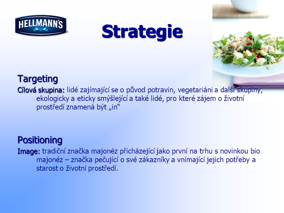 Strategie Targeting Positioning
