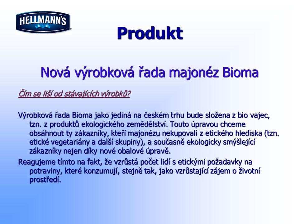 Nová výrobková řada majonéz Bioma