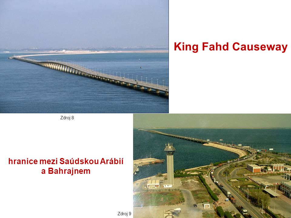 hranice mezi Saúdskou Arábií a Bahrajnem