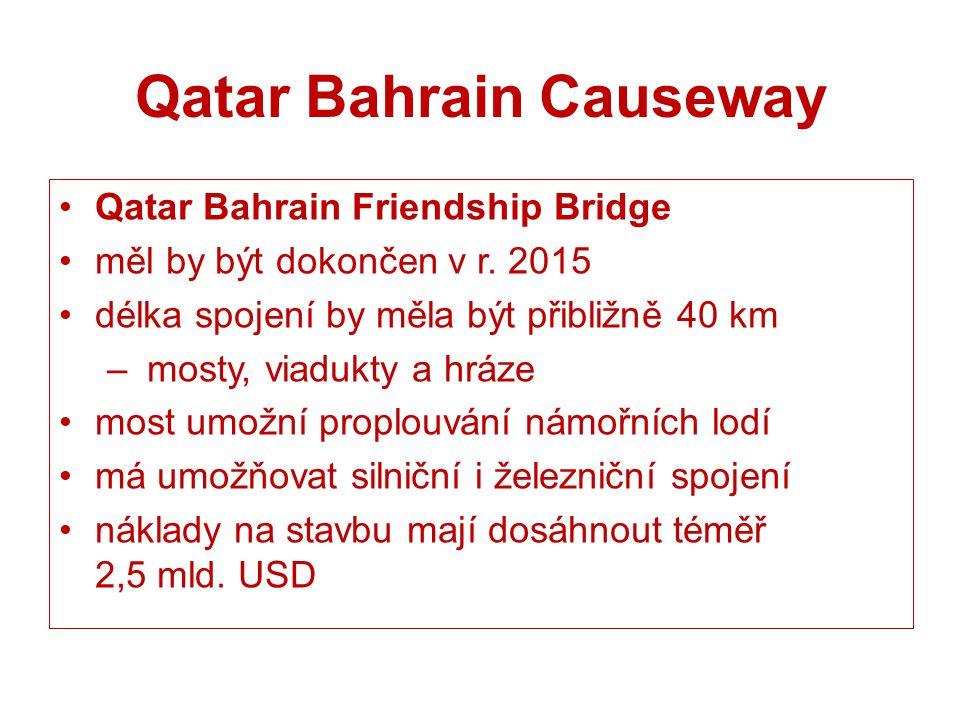 Qatar Bahrain Causeway