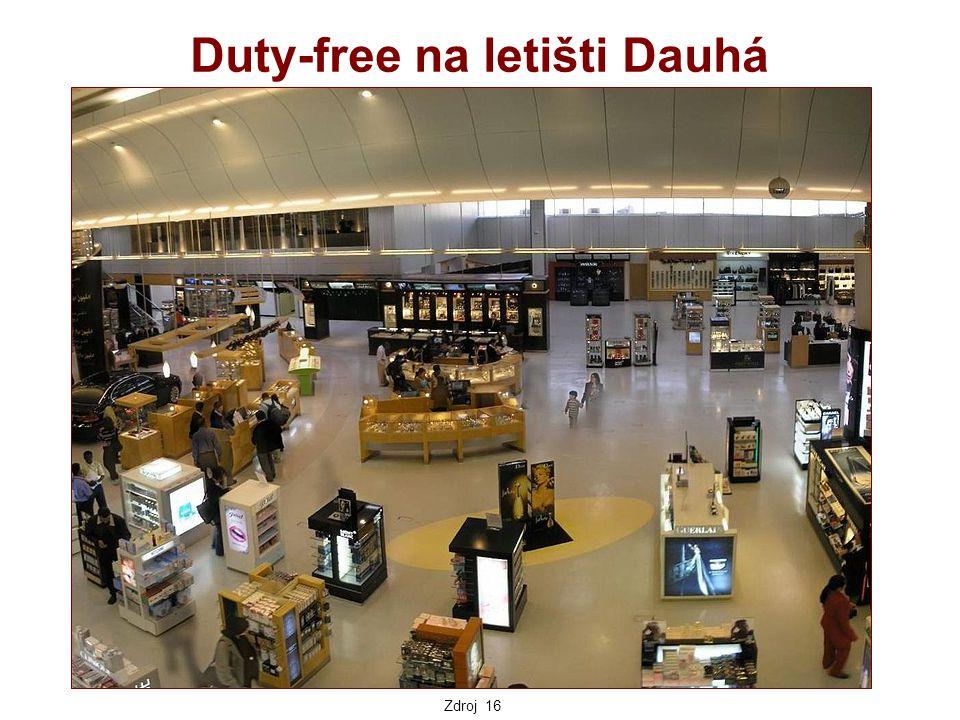 Duty-free na letišti Dauhá