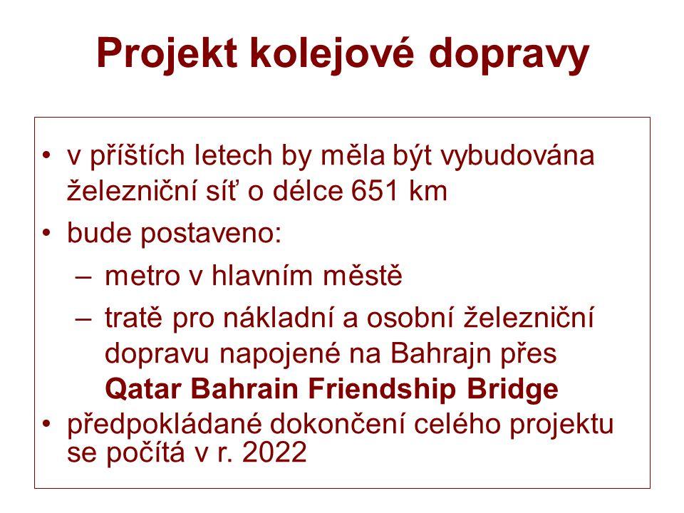 Projekt kolejové dopravy