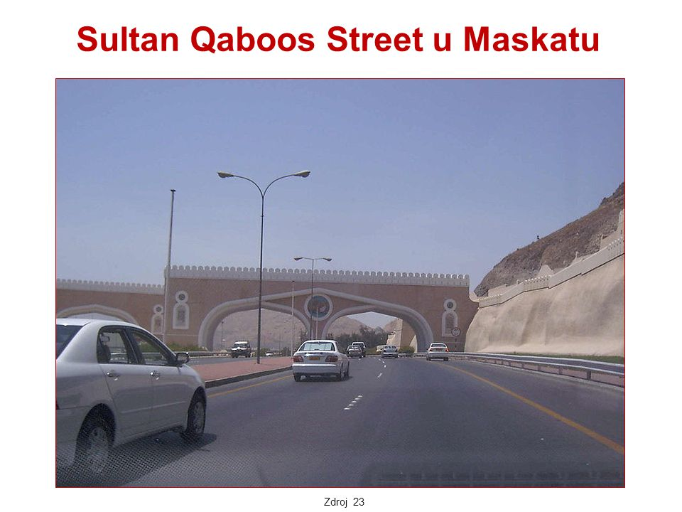 Sultan Qaboos Street u Maskatu