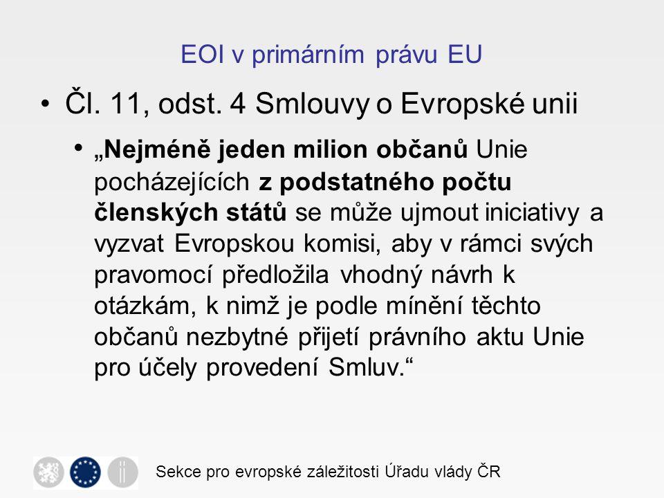 EOI v primárním právu EU