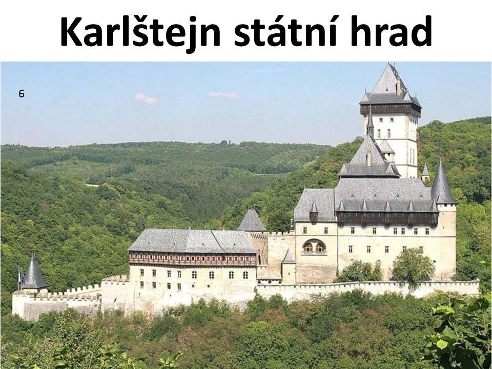 Karlštejn státní hrad 6