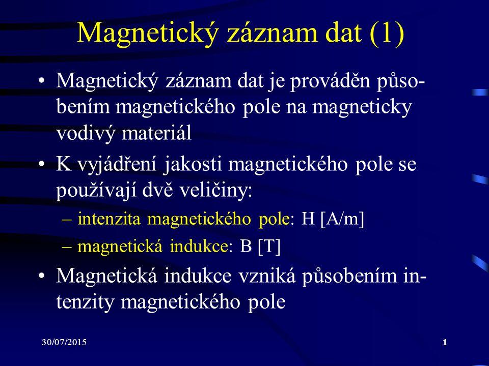 Magnetický záznam dat (1)