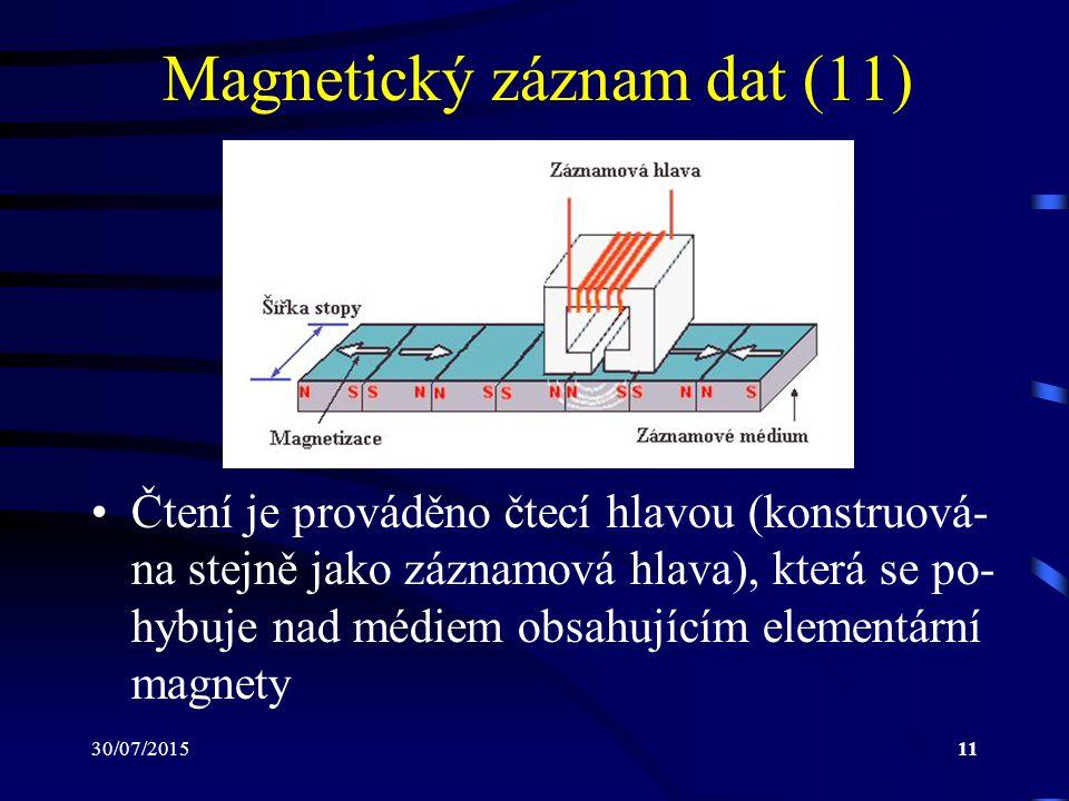 Magnetický záznam dat (11)