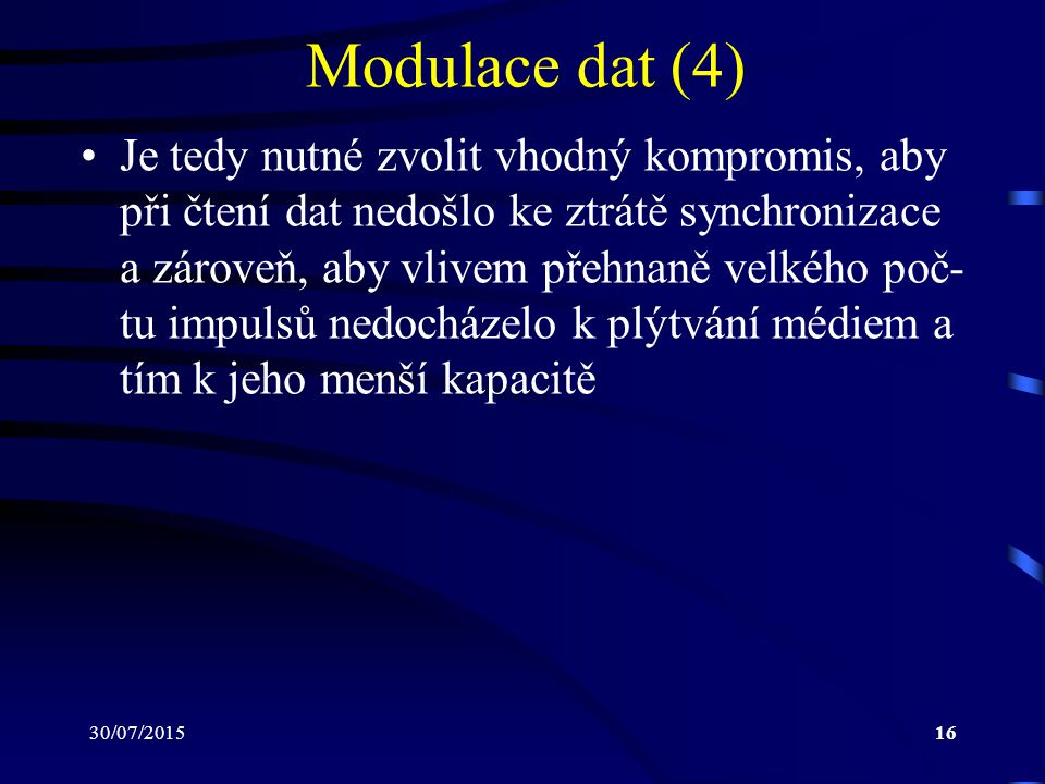 Modulace dat (4)