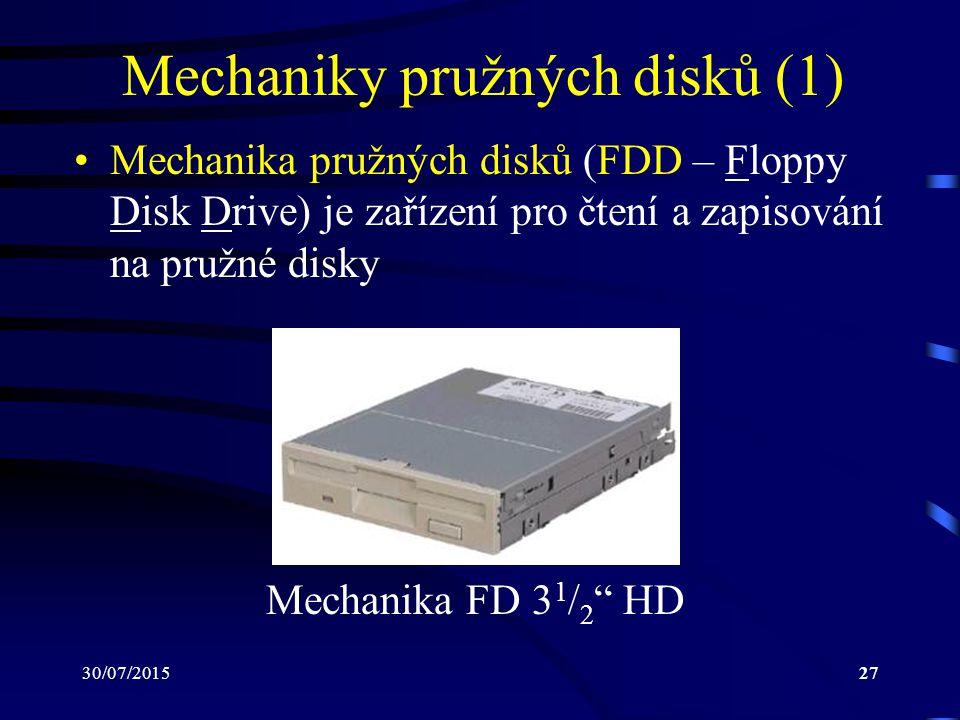 Mechaniky pružných disků (1)