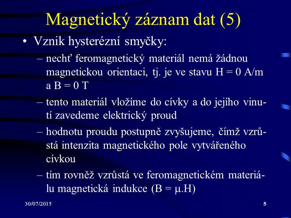 Magnetický záznam dat (5)