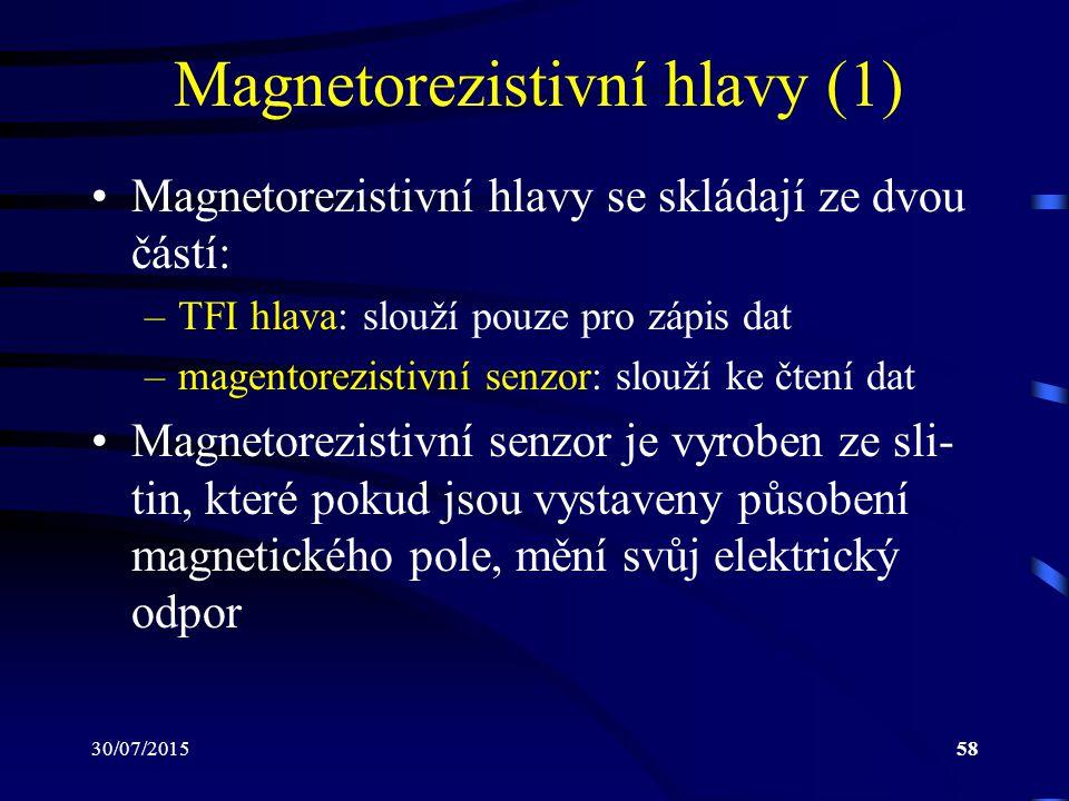 Magnetorezistivní hlavy (1)