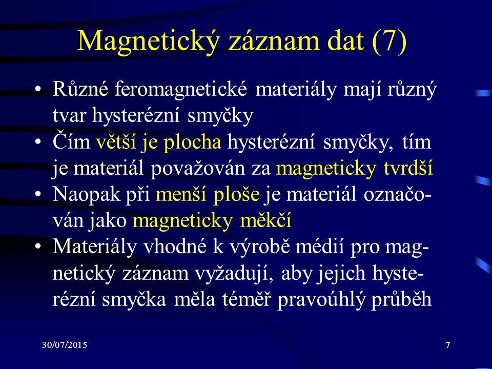 Magnetický záznam dat (7)