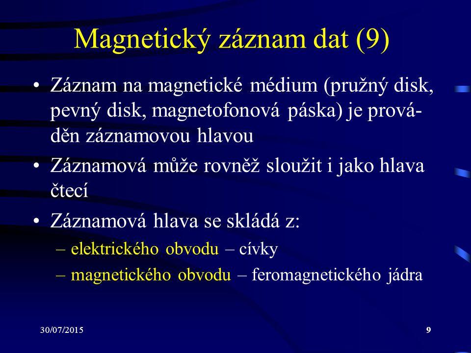 Magnetický záznam dat (9)