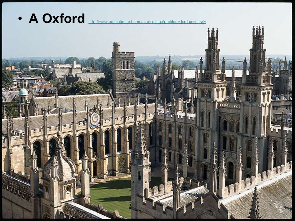 A Oxford http://www. educationext