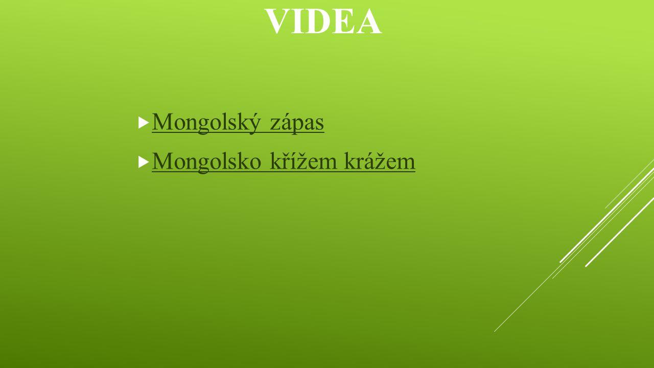 Videa Mongolský zápas Mongolsko křížem krážem