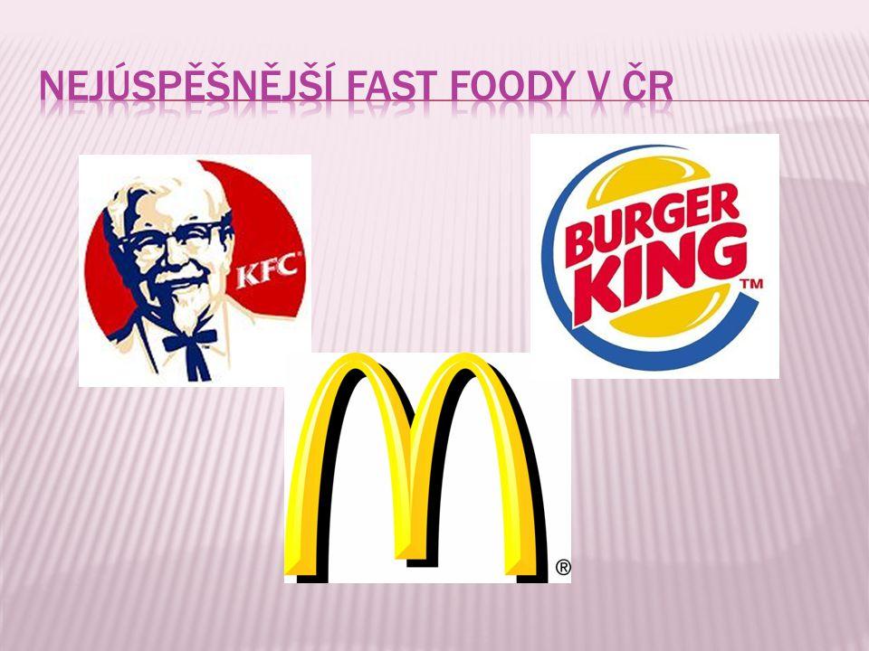 Nejúspěšnější fast foody v čr