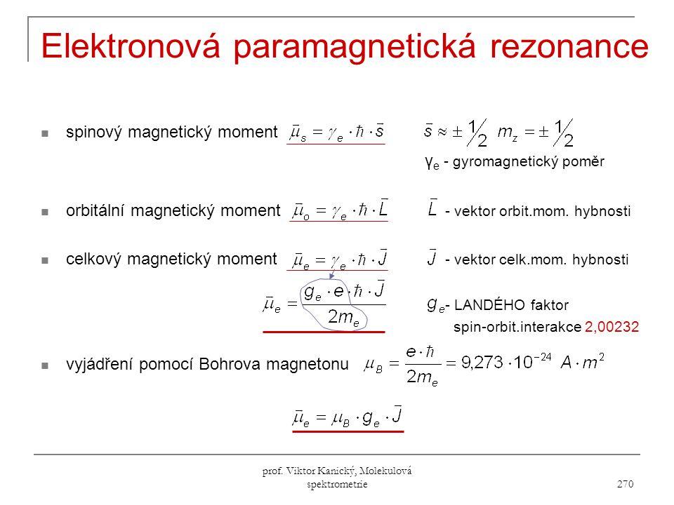 Elektronová paramagnetická rezonance