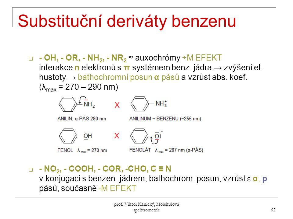 Substituční deriváty benzenu