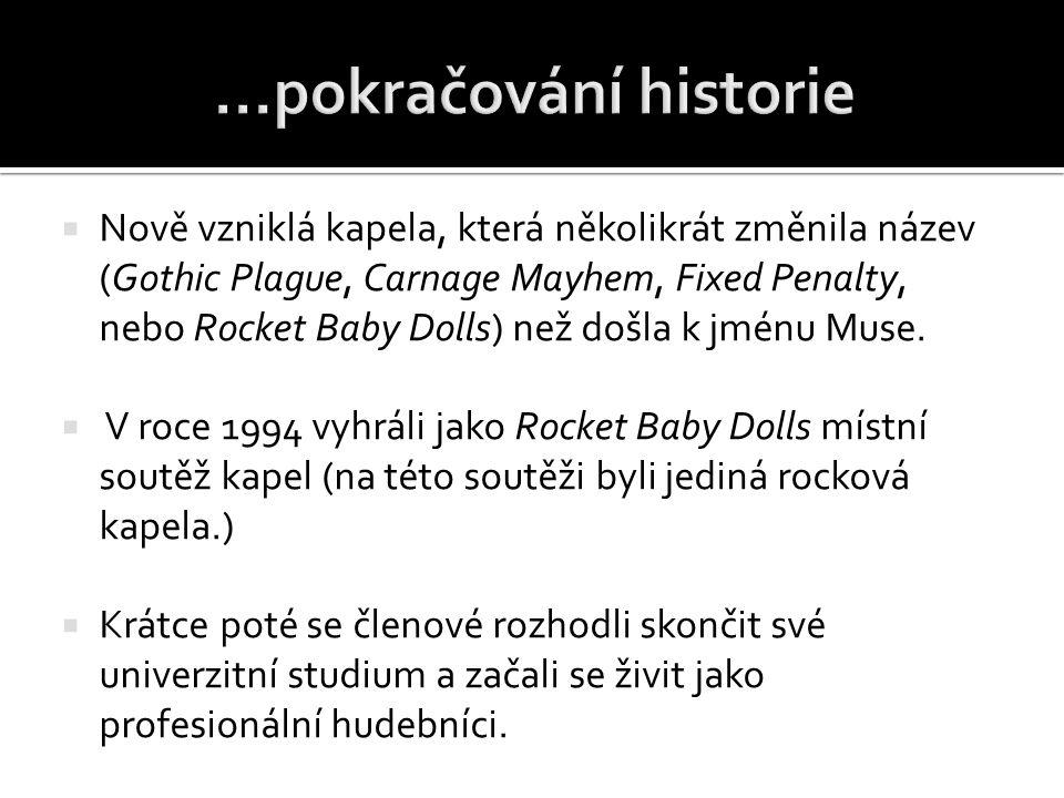 ...pokračování historie