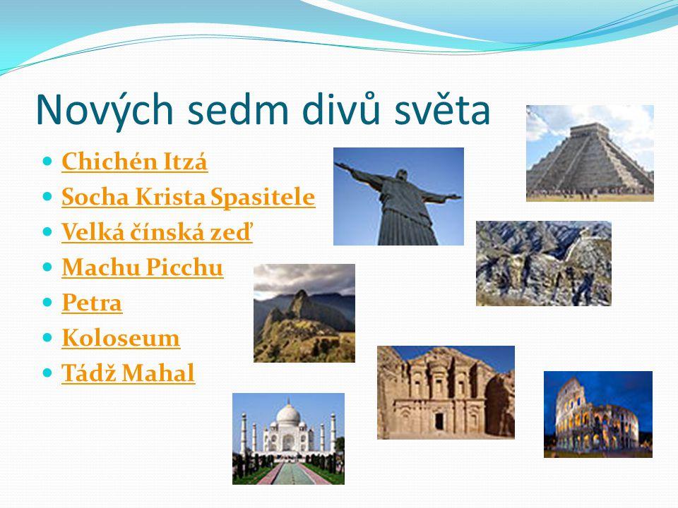 Nových sedm divů světa Chichén Itzá Socha Krista Spasitele