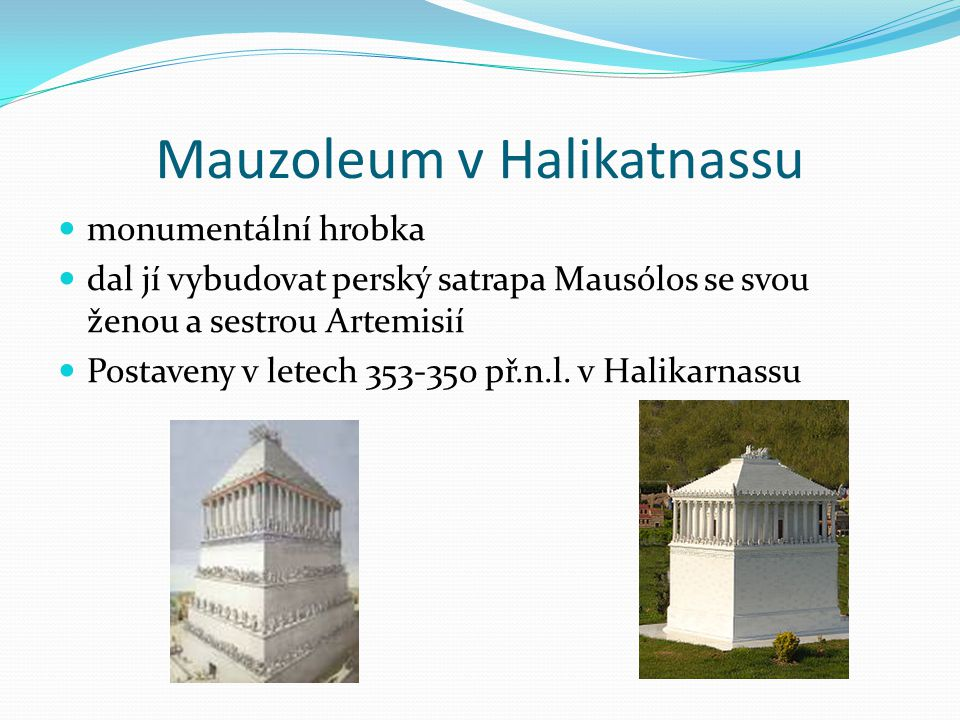 Mauzoleum v Halikatnassu