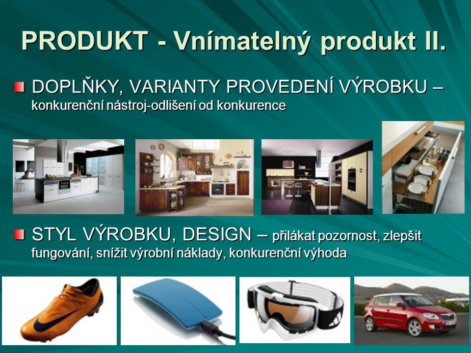 PRODUKT - Vnímatelný produkt II.