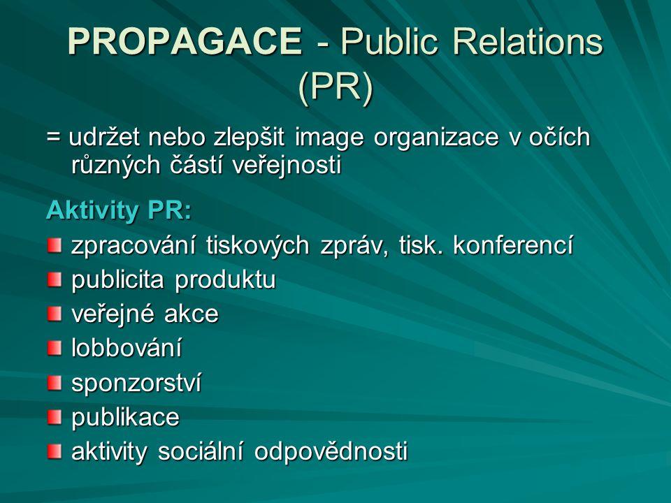 PROPAGACE - Public Relations (PR)