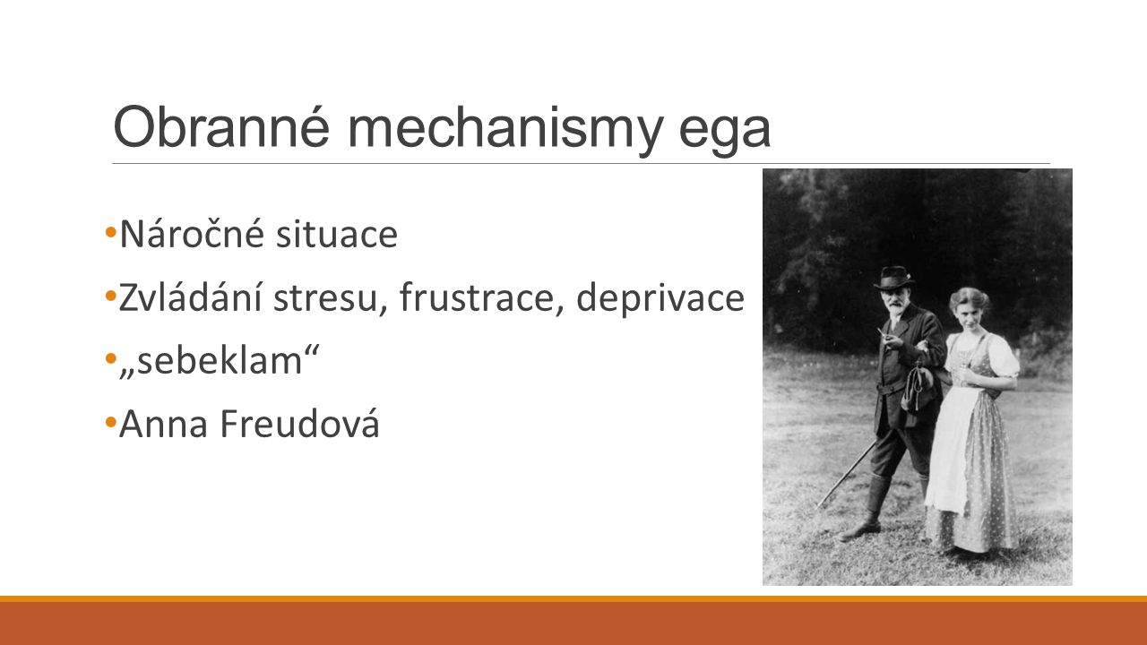 Obranné mechanismy ega