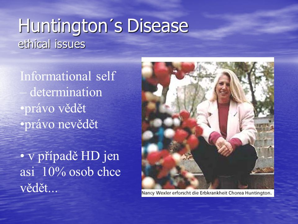 Huntington´s Disease ethical issues