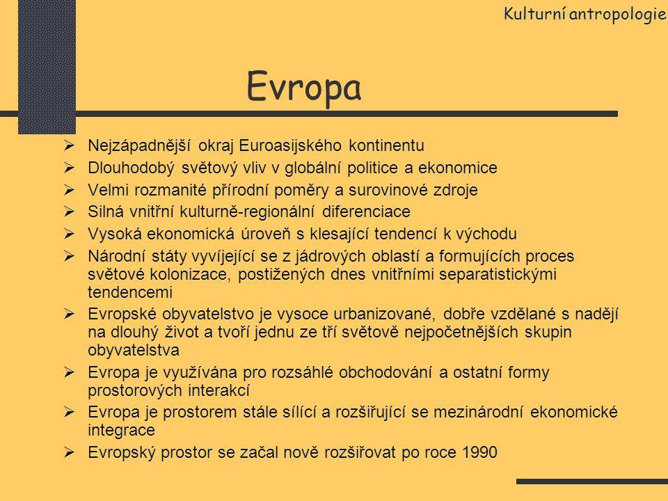 Evropa Kulturní antropologie