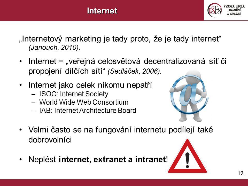 Internet jako celek nikomu nepatří