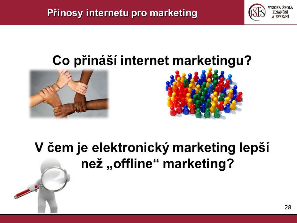 Co přináší internet marketingu